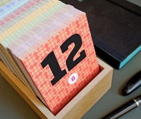 happydaysbox – immerwährender Kalender zum Momente merken und wieder finden