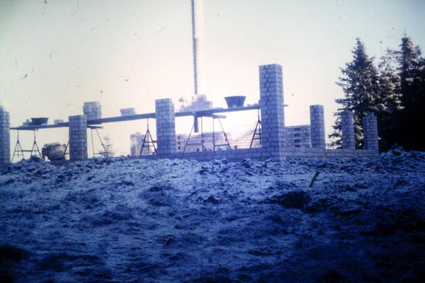 Bau des Bollerbergturmes