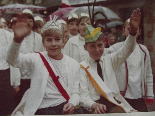 Kinderkönigspaar Erika und Klemens - Foto von Monika Müller