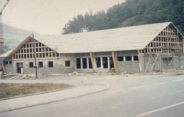 """Bau der neuen Schützenhalle    """"Foto von Petra Guntermann"""""""