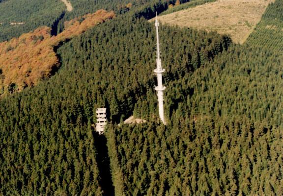Bollerbergturm vor Kyrill