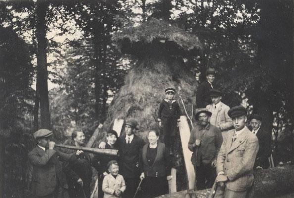 Meiler im Dillenscheid (Dillmacke) 1935 - Foto von Andreas Emde