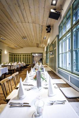 Saal für Hochzeit hier für 50 Personen