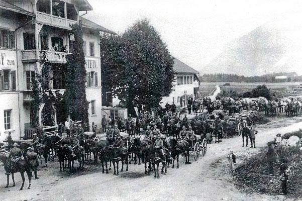 Einquartierung Infanterie-Bataillon (1915)