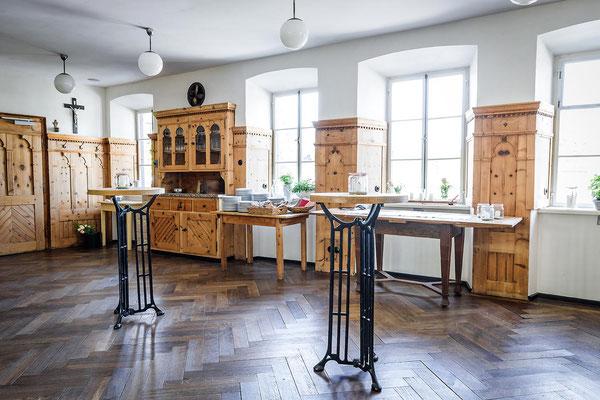 Gasthaus zum Brünnstein Oberaudorf Stehtische und Buffet