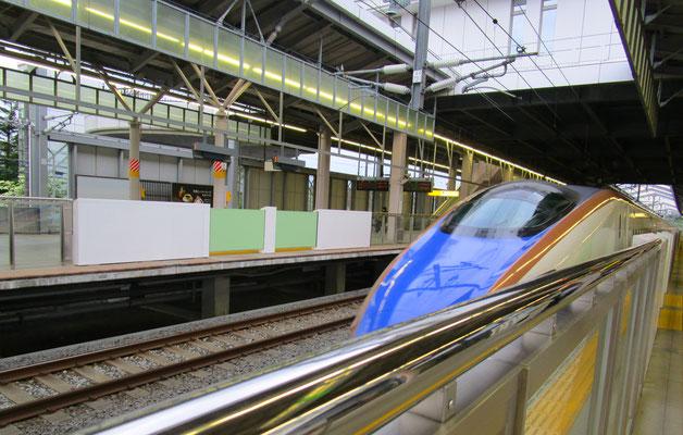 北陸新幹線は大人の魅力🌟お世話になりました。