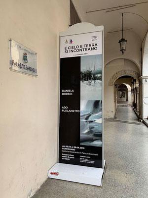Aprile 2019- Personali di Ado Furlanetto e Daniela Borsoi a Palazzo Sarcinelli - Conegliano(TV)