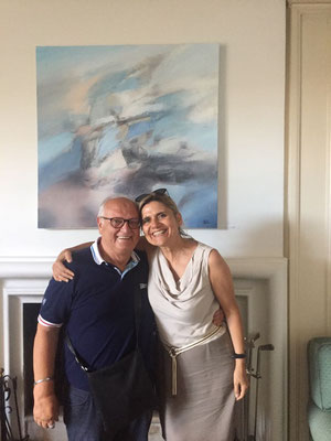 Visita a Villa Policreti del critico e storico dell'arte Lorena Gava