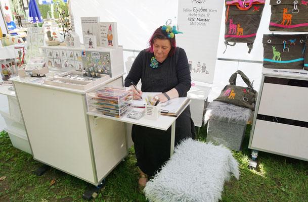 """Kunsthandwerkermarkt in Syke """"Am Zeichentisch"""""""