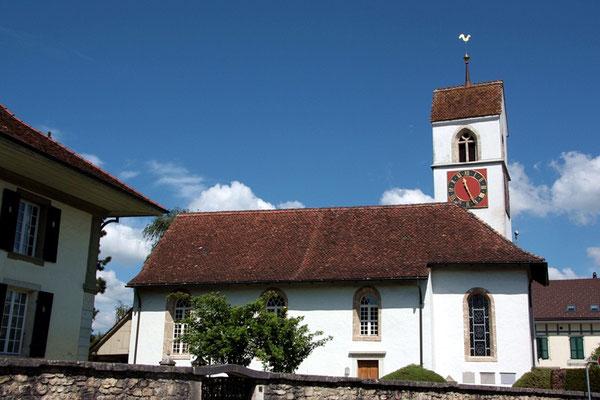 Die Trauung in der Kirche Rüti