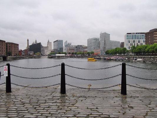 """Die Hafenanlage vom """"Albert Dock"""""""