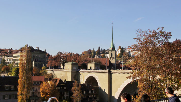 Nebst der Kirche in Oberburg auch immer wieder schön zu konzertieren und zuzuhören: In der Nydeggkirche in Bern