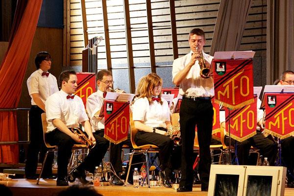 Marcel mit der funkigen Trompete