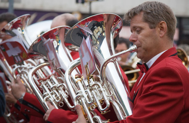 The Master of his Euphonium - Contest in Lees, Photo by Bob Hindley
