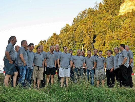 Der Jodlerklub Oberburg mit Gesangseinlagen