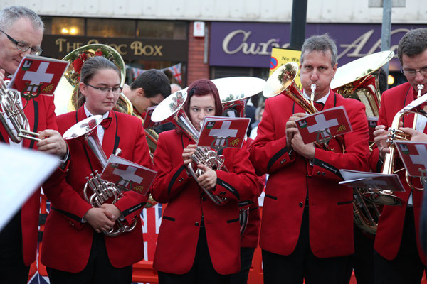 Horn-Section - Contest in Lees, Photo by Bob Hindley