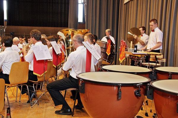 """Die Schlagzeug-""""Küche"""""""