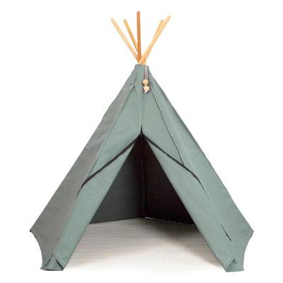 Roommate Spielzelt Hippie Tipi seegrün