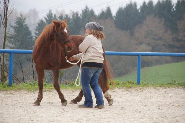 Lilly und Andrea beim Spielen
