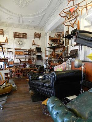 Ein sehr außergewöhnliches Geschäft für gebrauchte Möbel