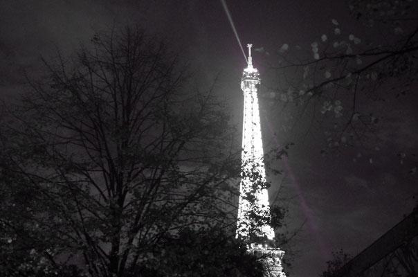Tour Eiffel Noir et Blanc.