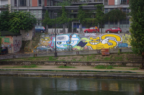 Canal St-Martin.