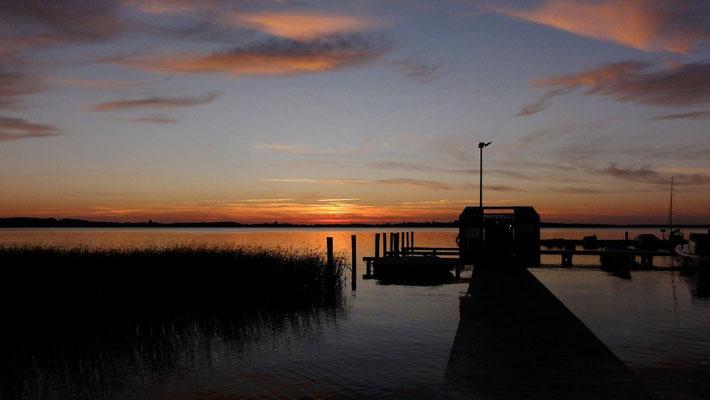 Marina Zwei Seen mit 80 Komfortliegeboxen © Naturcamping Zwei Seen am Plauer See/MV