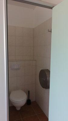 WC-Anlage im neuen Sanitärbereich © www.zweiseen.de