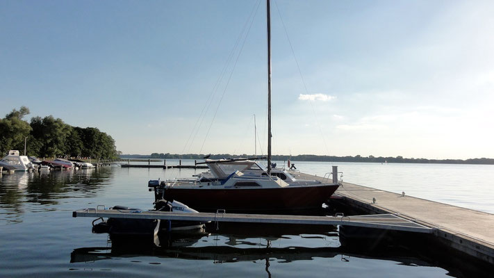 Marina ZWEI SEEN am Plauer See © Naturcamping Zwei Seen