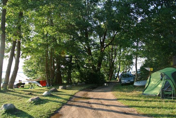 Platz 117 © Naturcamping Zwei Seen am Plauer See/MV - www.zweiseen.de