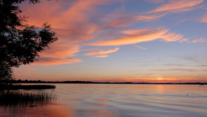 Originalfoto ohne Bildbearbeitung! © Naturcamping Zwei Seen am Plauer See/MV - www.zweiseen.de