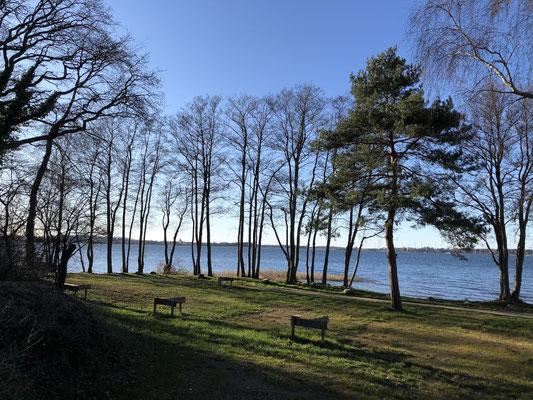 Unseren besonderen S-Plätze: 1. Reihe am See, nur seitliche Nachbarn, Toplage am Plauer See - nur online buchbar.