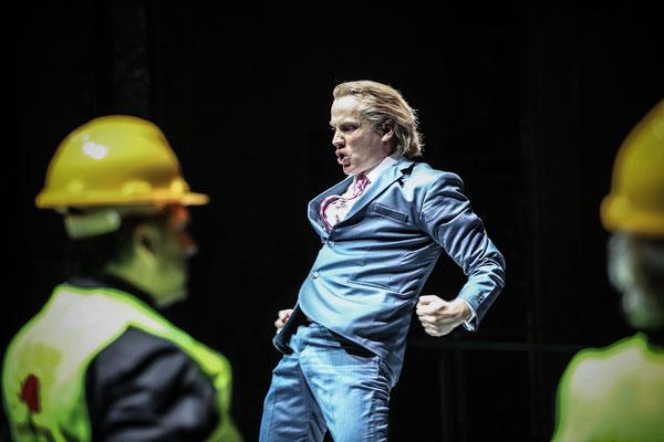 Der fliegende Holländer// Oper Halle // 2016/17 // Regie: Florian Lutz