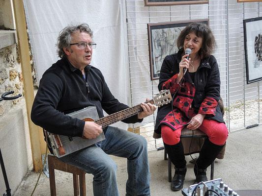 Marcel Créac'h et Anne Abeloos
