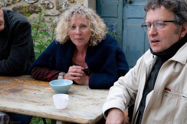 Annie Quesney et Marcel Creac'h