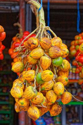 Pfirsichpalmenfrüchte (mehlig ähnlich Kartoffeln)