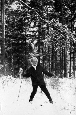 Sportlich auf den Ski