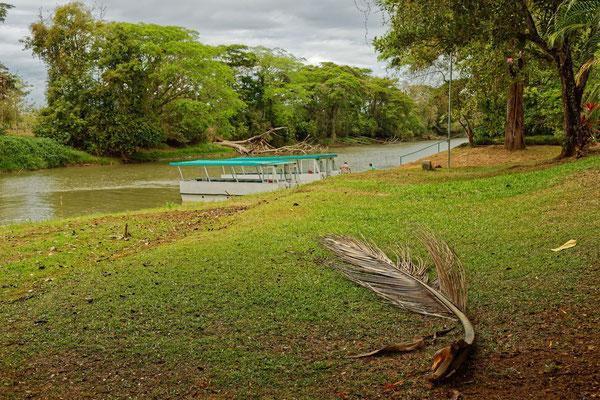 Rio Frio im Norden an der Grenze zu Nicaragua