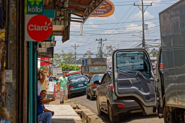 Straßenszene in Pital