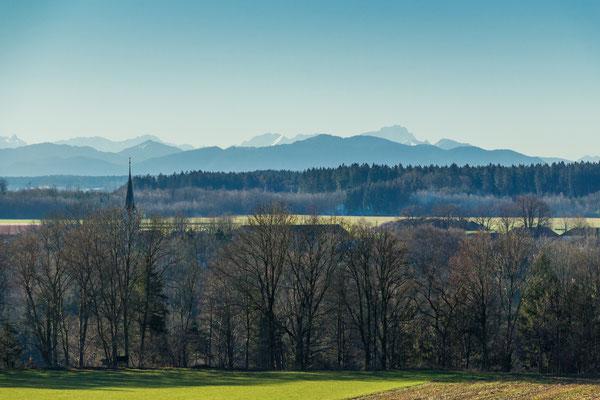 Aussicht von Kleinhöhenkirchen