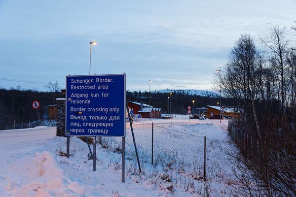 Kirkenes Russische Grenze