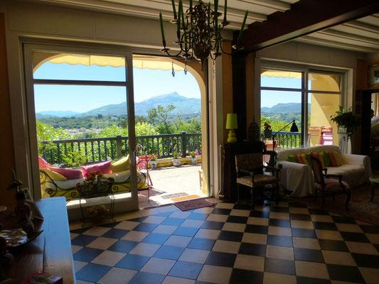 Location villa avec vue St Jean Luz