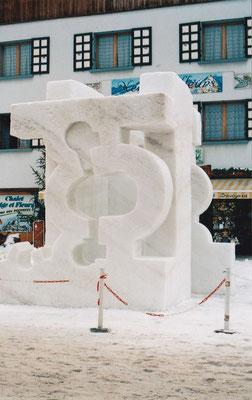 """""""Hommage à Chillida"""" Valloire 2004"""