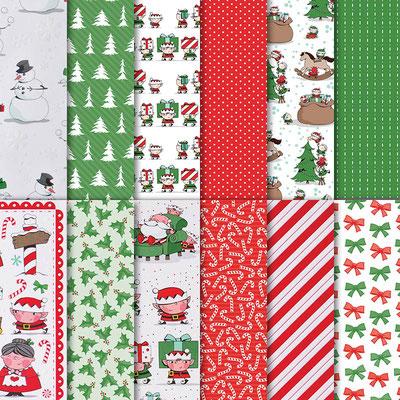 Designerpapier In der Weihnachtswerkstatt ©Stampin' Up!