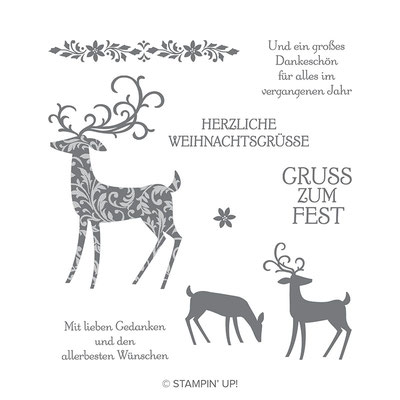Stempelset Weihnachtshirch ©Stampin' Up!