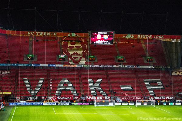 FC Twente Enschede vs. Willem II Tilburg - de Grolsch Veste