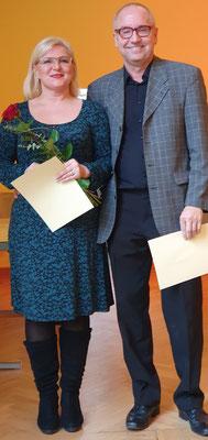 Elena Martel und Manfred Jung