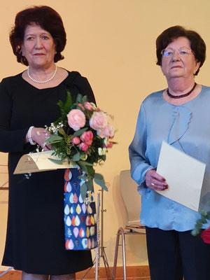 Ingrid Zimmer-Eble (li.) und Brigitte Benther