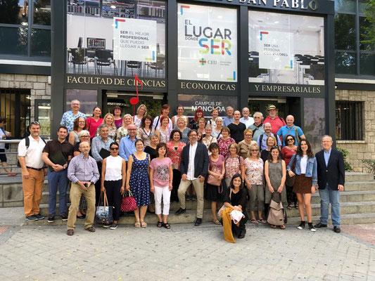 Empfang in der Universität CEU San Pablo in Madrid für vocalis