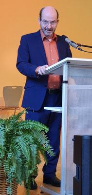 Markus Bader, Vorsitzender der Liedertafel Ettlingen